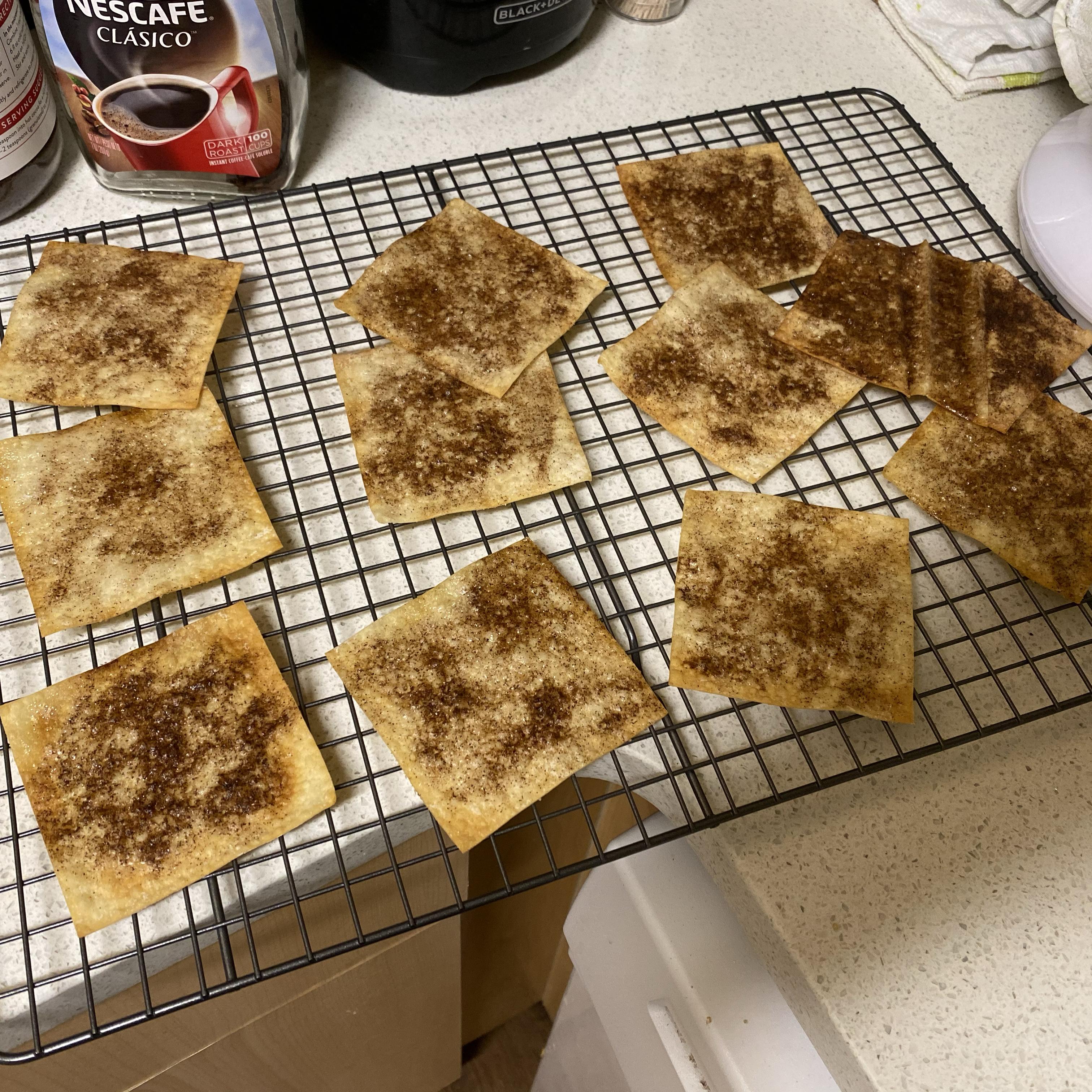 Cinnamon Sugar Crisps Jacob