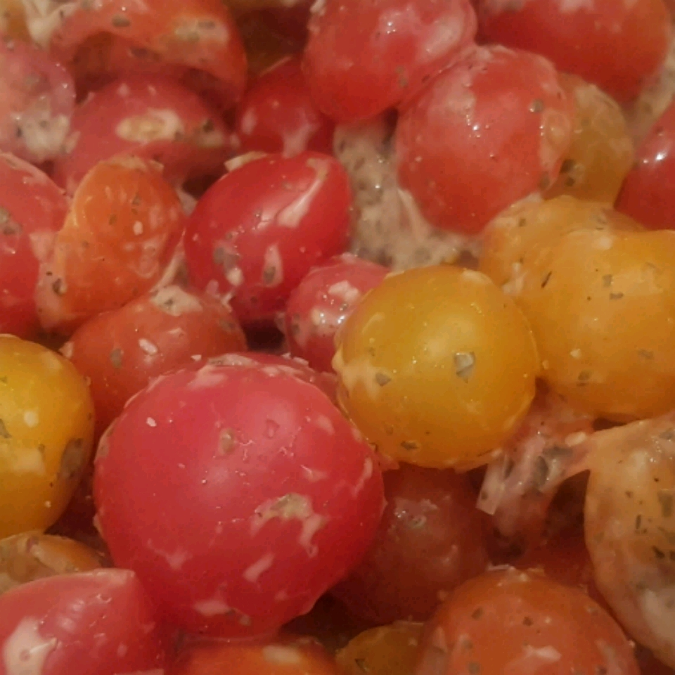 Red and Yellow Cherry Tomato Salad Chantal Ana Maria R.