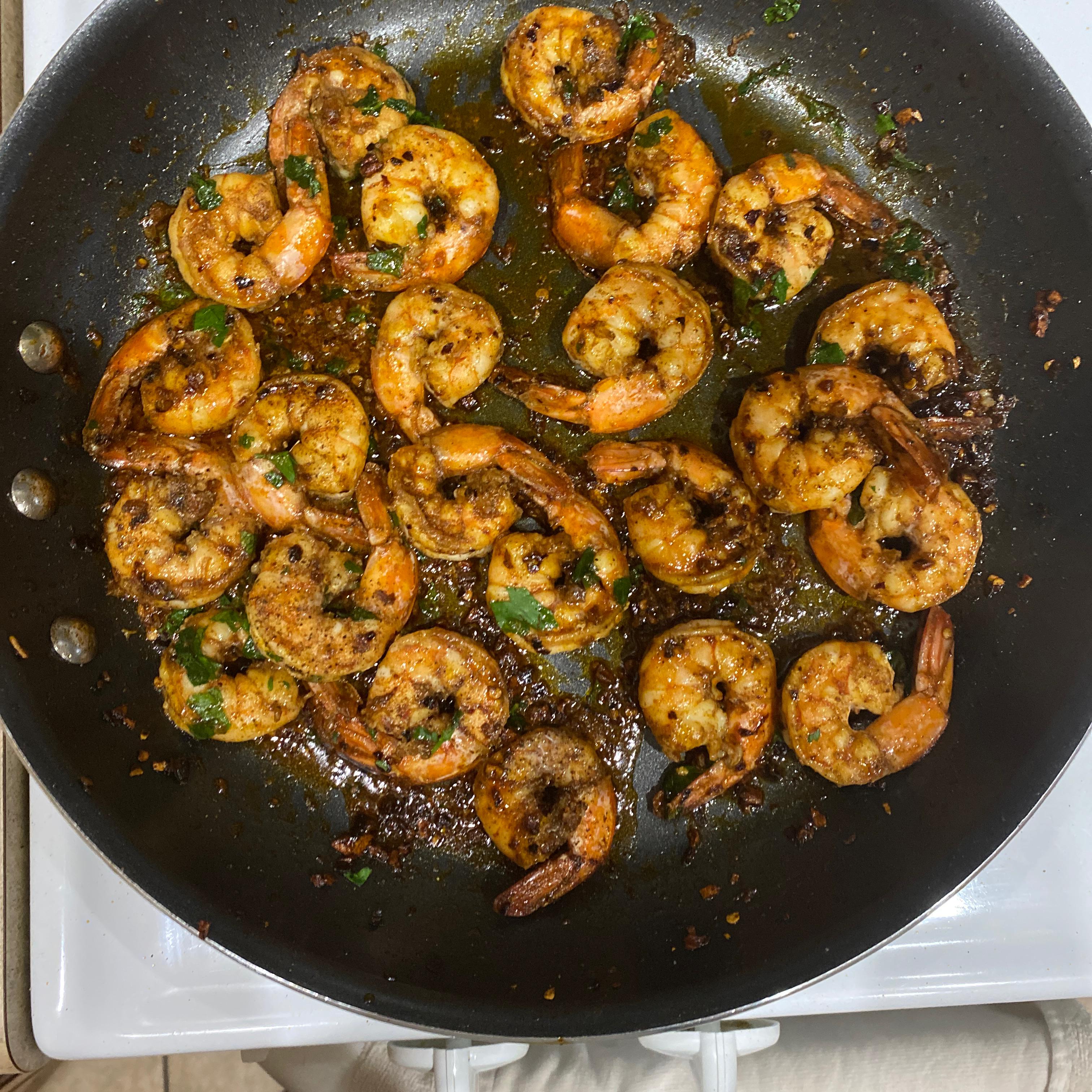 Sizzling Sherry Shrimp with Garlic Pamela Neri