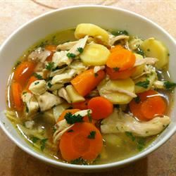 Home Made Chicken Noodle Soup!