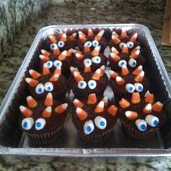 Candy Corn Cupcakes CarolinaCook