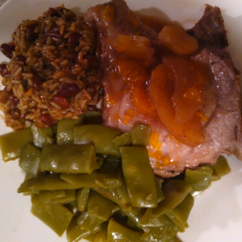 Pork Steaks with Orange-Apple Sauce Dustin cox