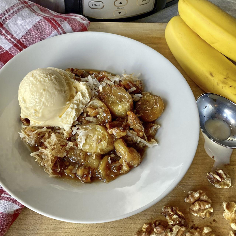 Slow Cooker Bananas Foster Trusted Brands