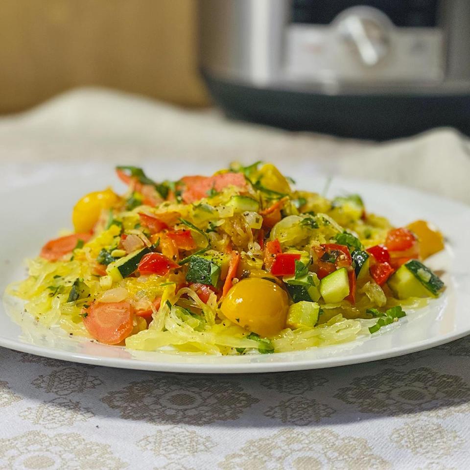 Instant Pot® Spaghetti Squash Primavera Trusted Brands