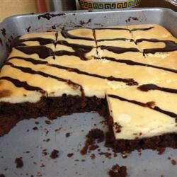 Brownie Cheesecake Bars Pinky