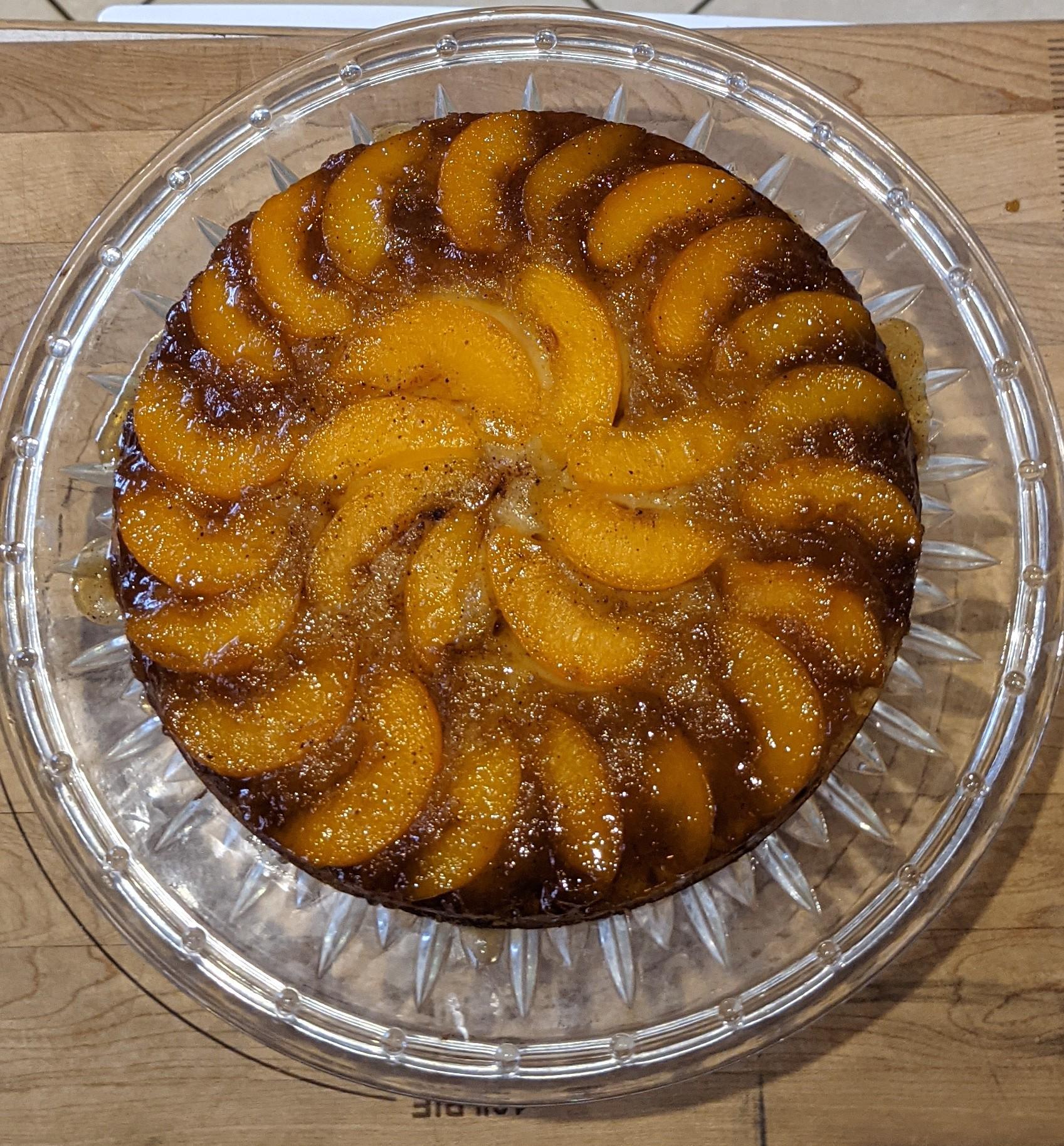 Peach Upside Down Cake I