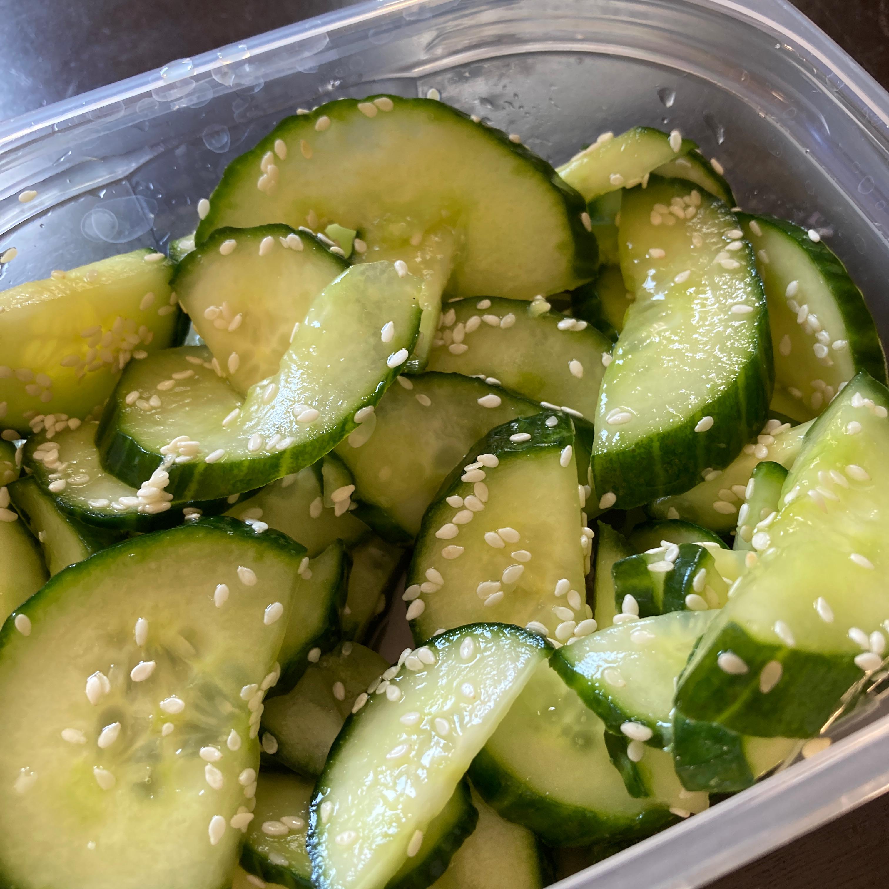Japanese Cucumber Salad (Sunomono) Hannah Nathanson