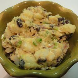 Spicy Black Bean Potato Salad