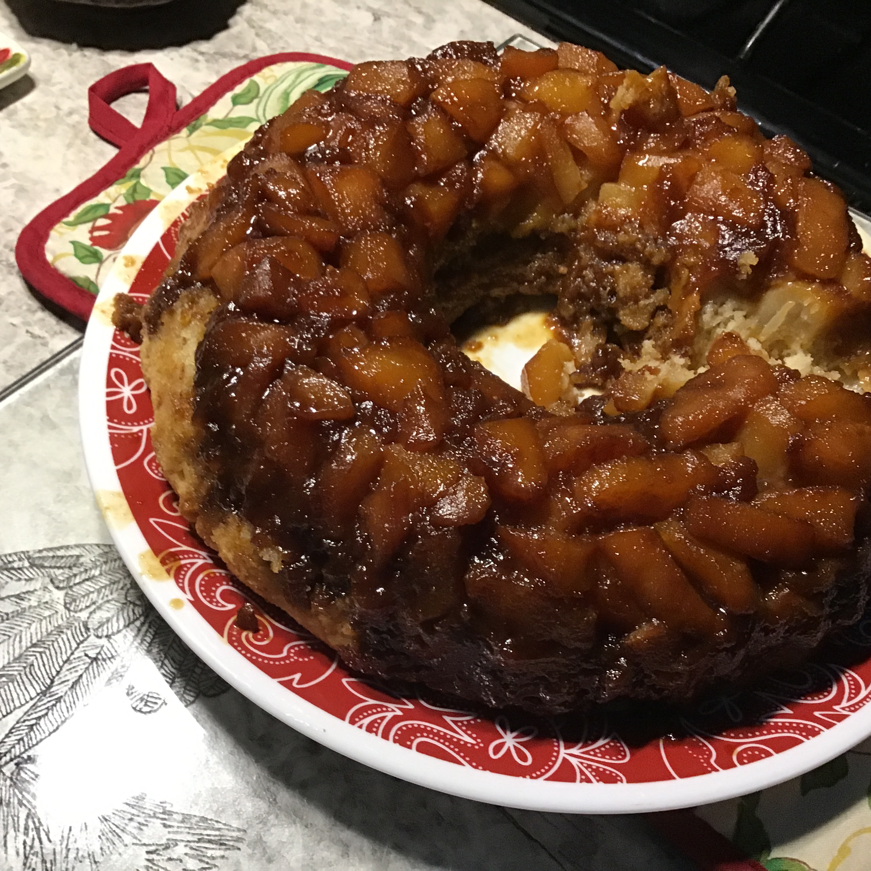 Ginger-Pear Upside-Down Cake