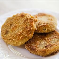 Frugal Fried Green Tomatoes