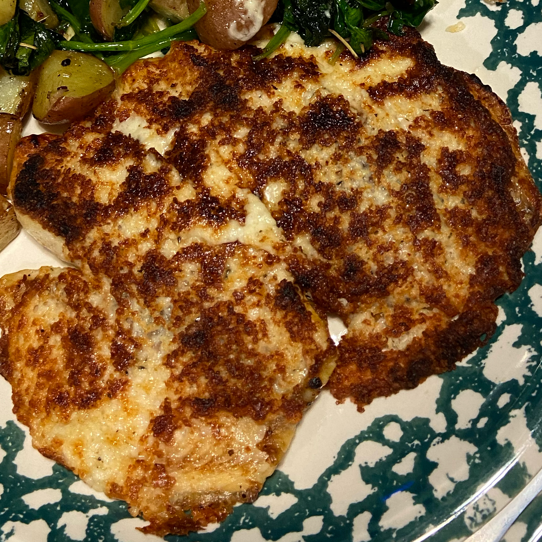 Broiled Parmesan-Lemon Tilapia