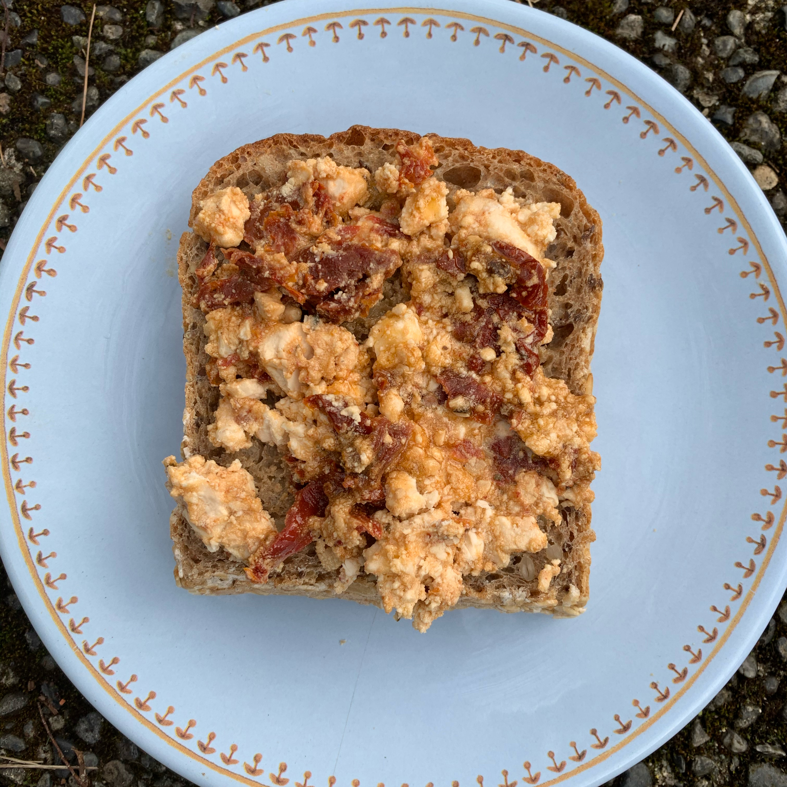 Baked Feta Spread with Sun-Dried Tomatoes barbara