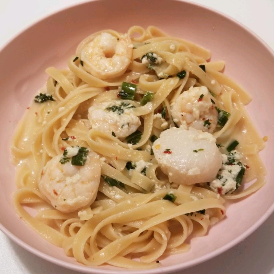 Cajun Seafood Pasta Christina Wheeler