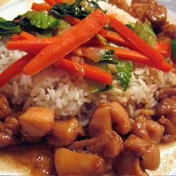 Chinese Garlic Chicken MJB