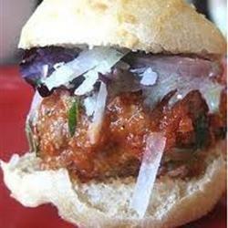 Delicious Italian Meatball Sliders