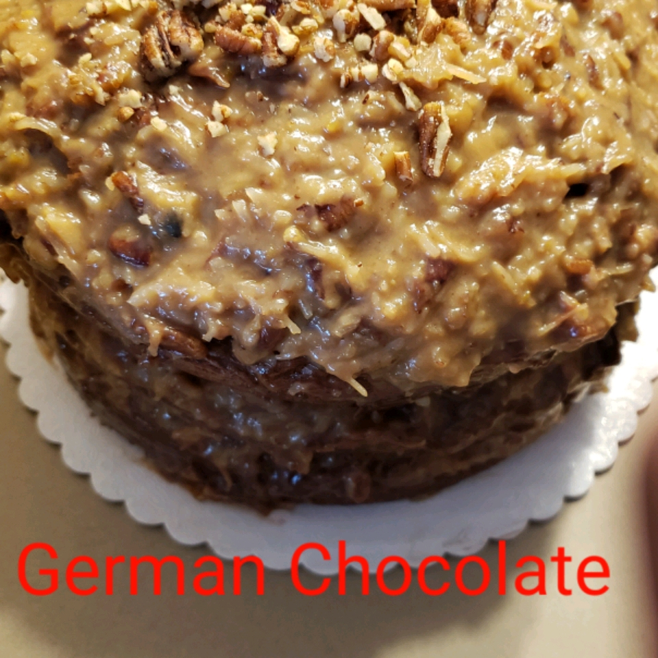 German Chocolate Cake Frosting jyoung