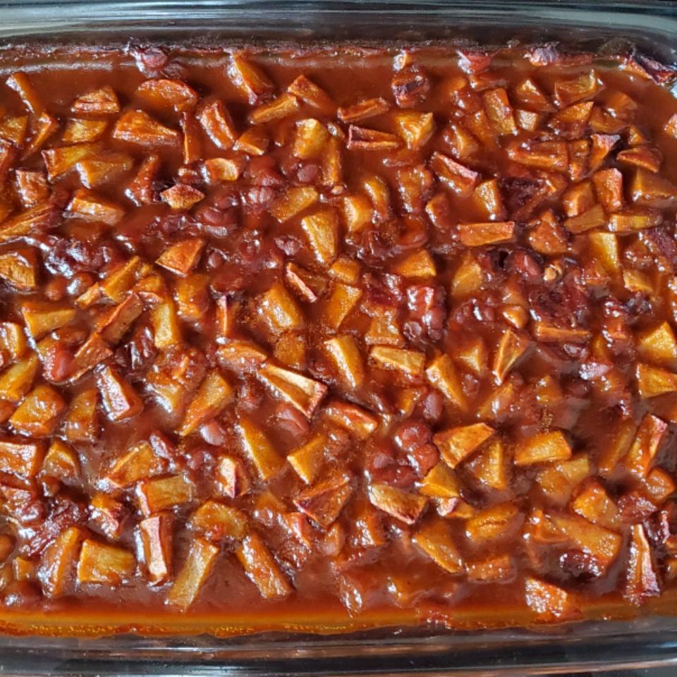 Apple Baked Beans mary