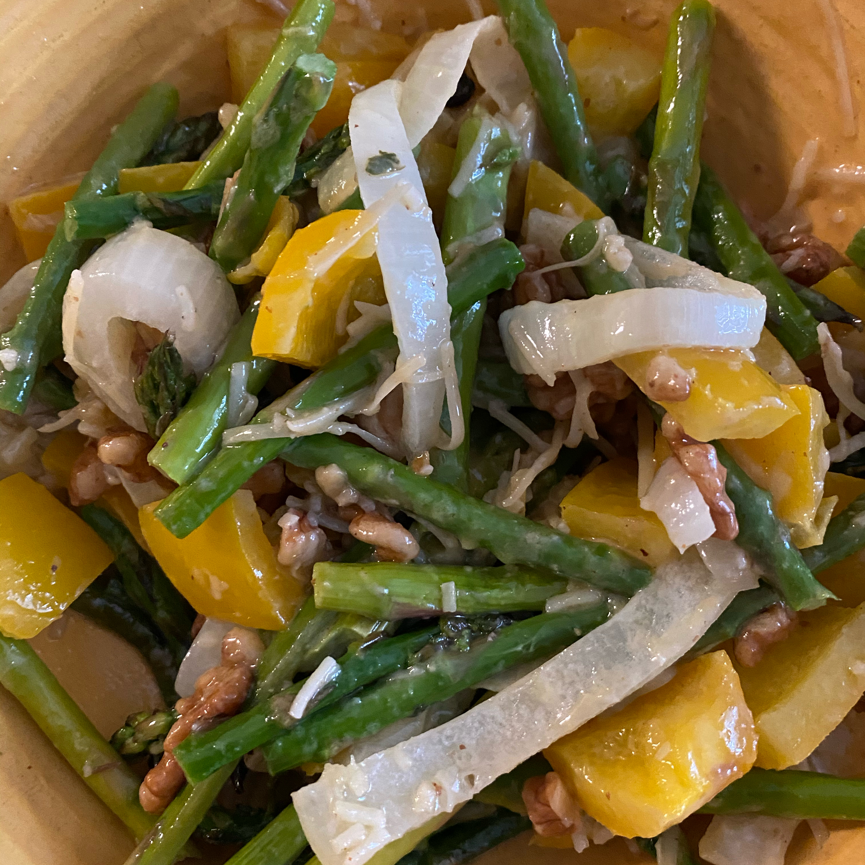 Roasted Asparagus and Yellow Pepper Salad joverall@sbcglobal.net