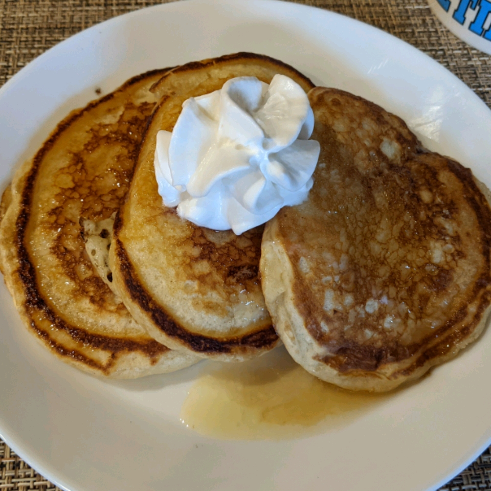 Fluffy Maple Buttermilk Pancakes TeresaB
