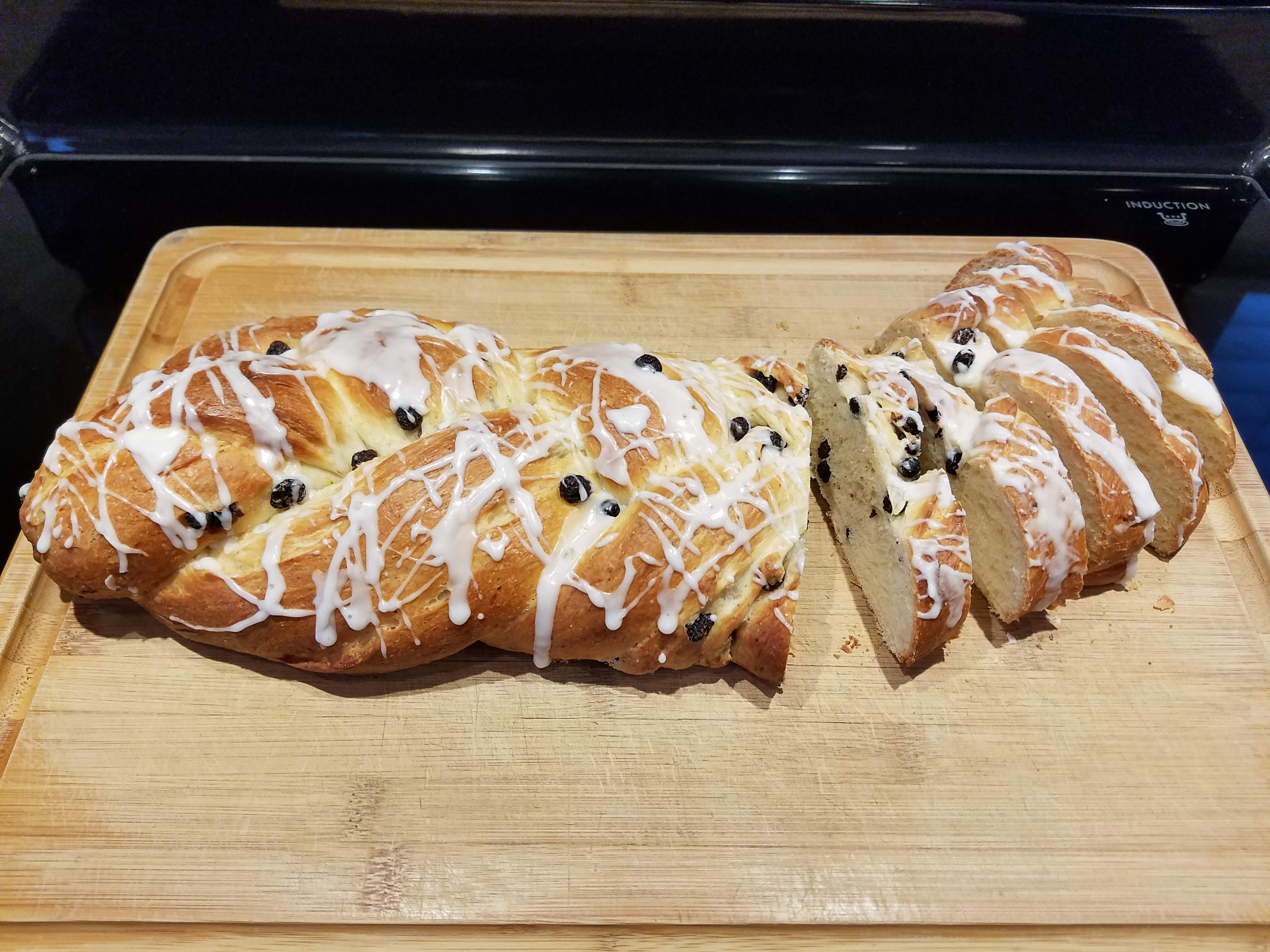Lemon-Blueberry Yeast Bread Kim