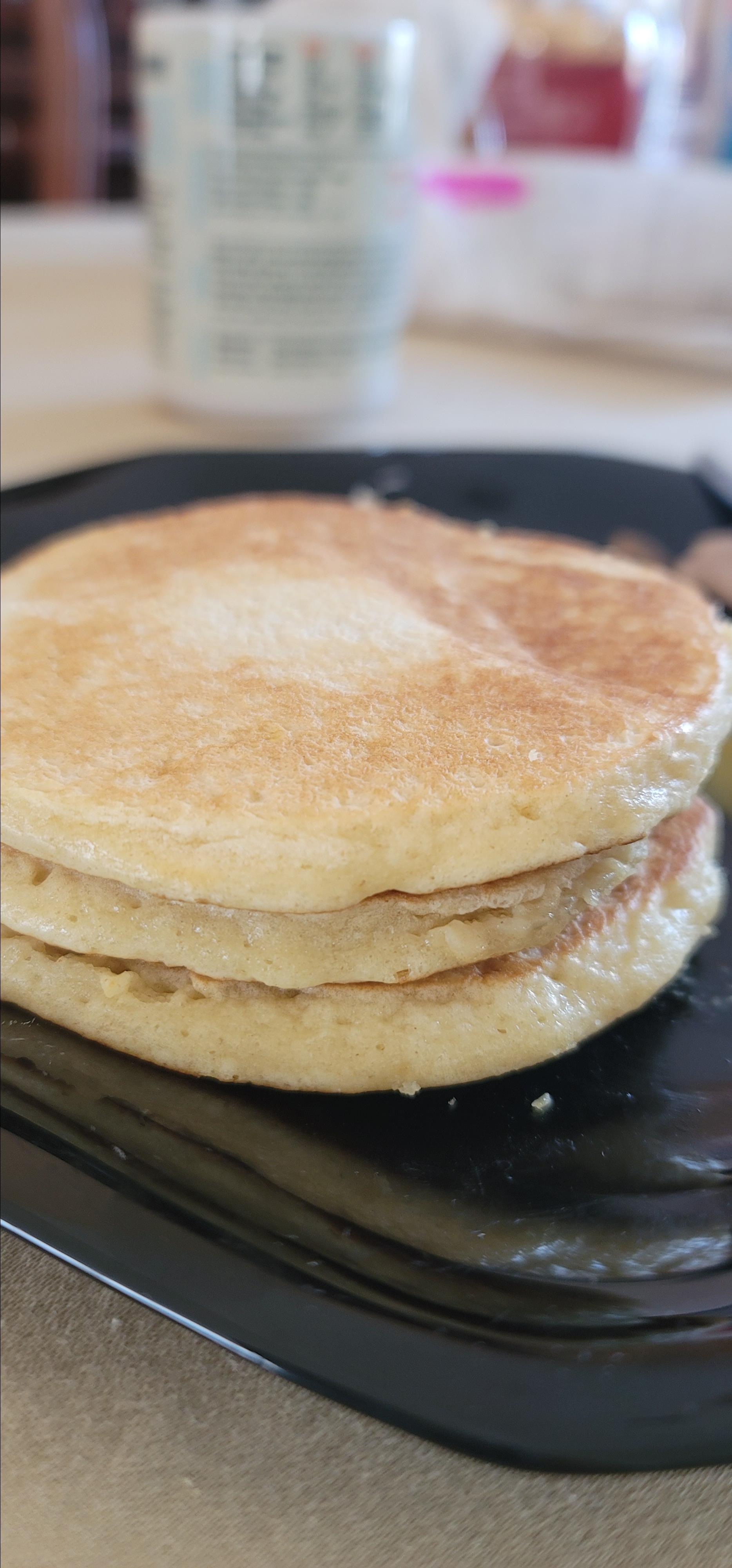 Fluffy Maple Buttermilk Pancakes Annette R