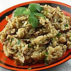 fresh mushroom rice pilaf recipe