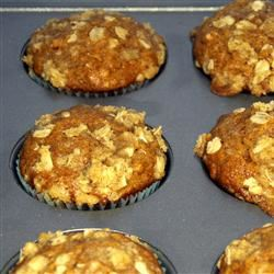 Pumpkin Muffins with Streusel Topping Patty V