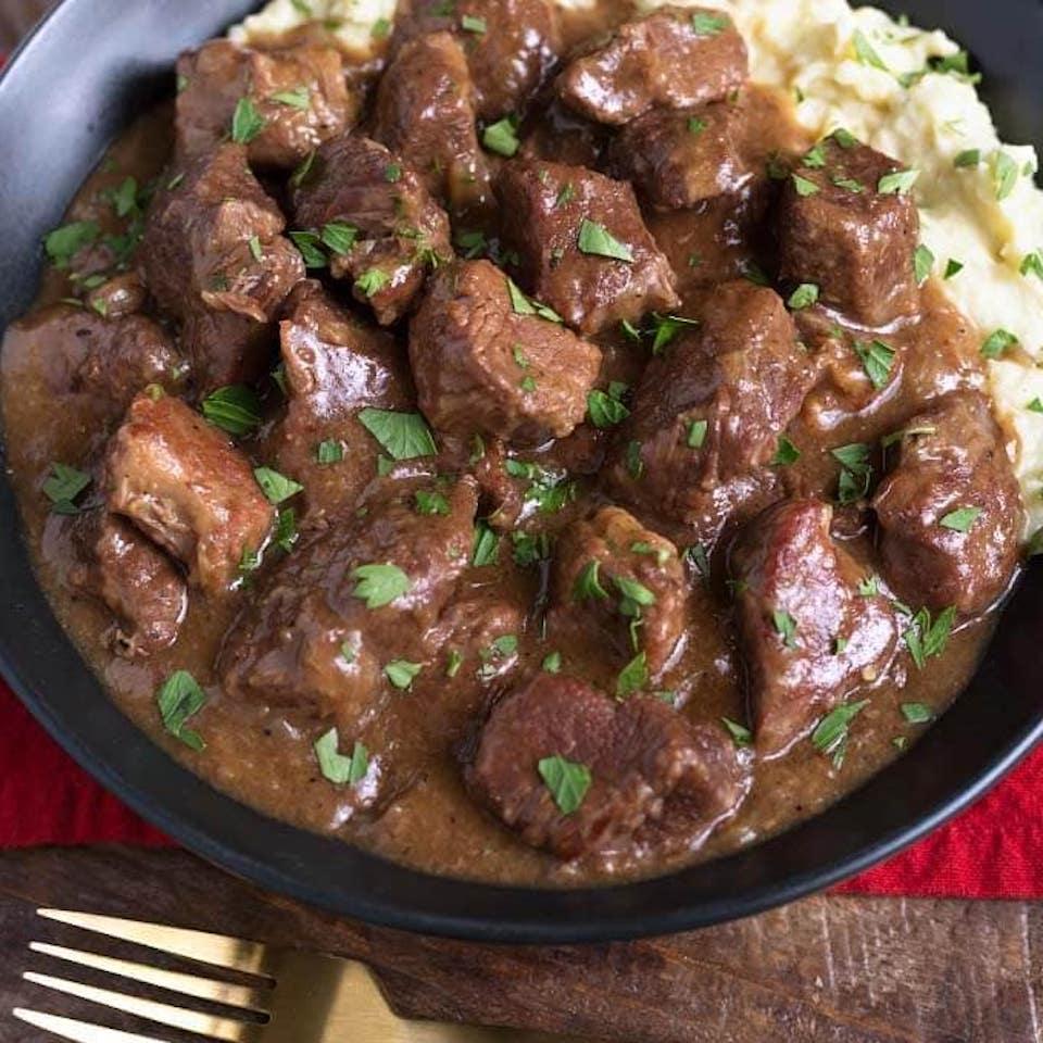 Instant Pot® Beef Tips