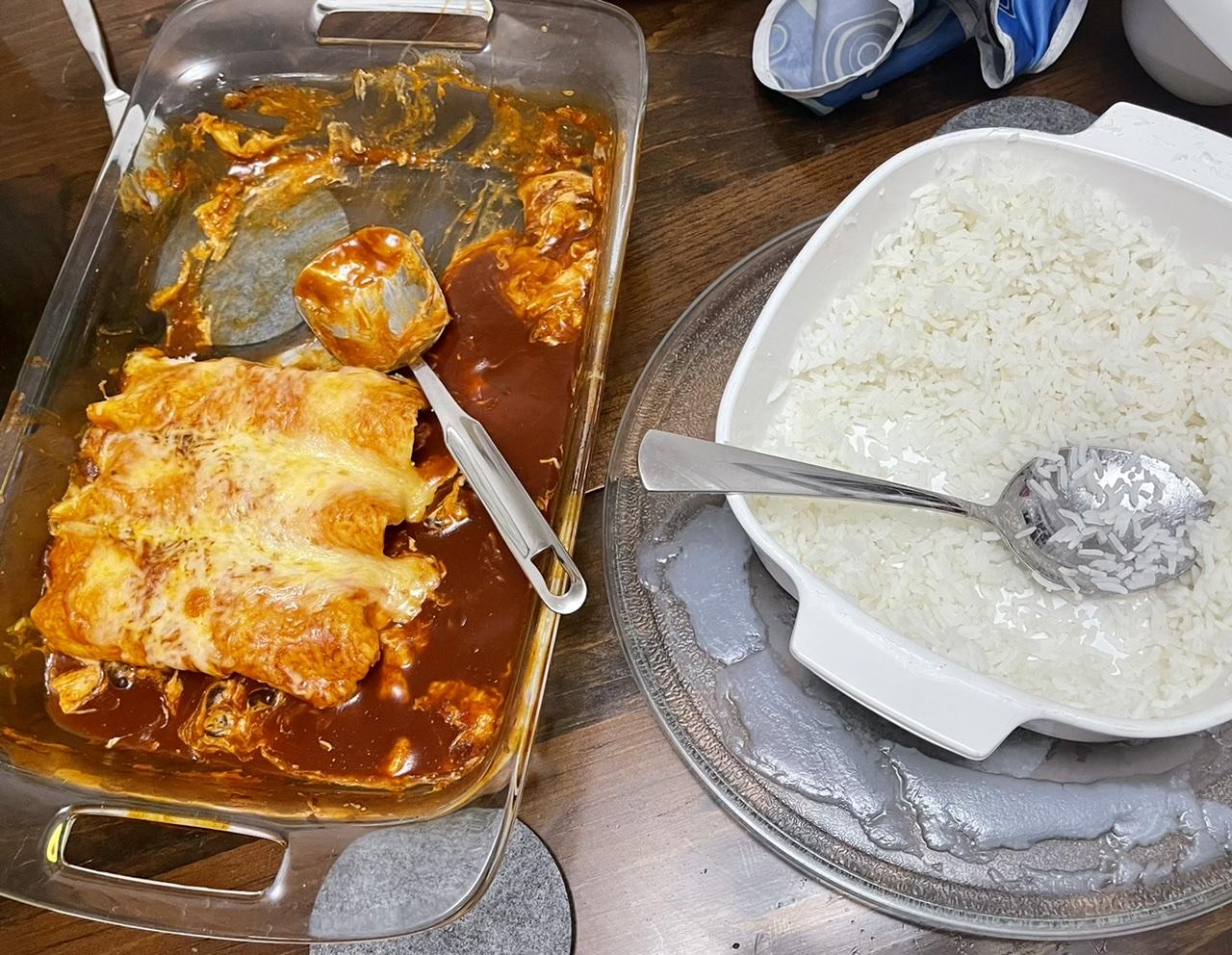 Chicken Enchiladas with Cream Cheese