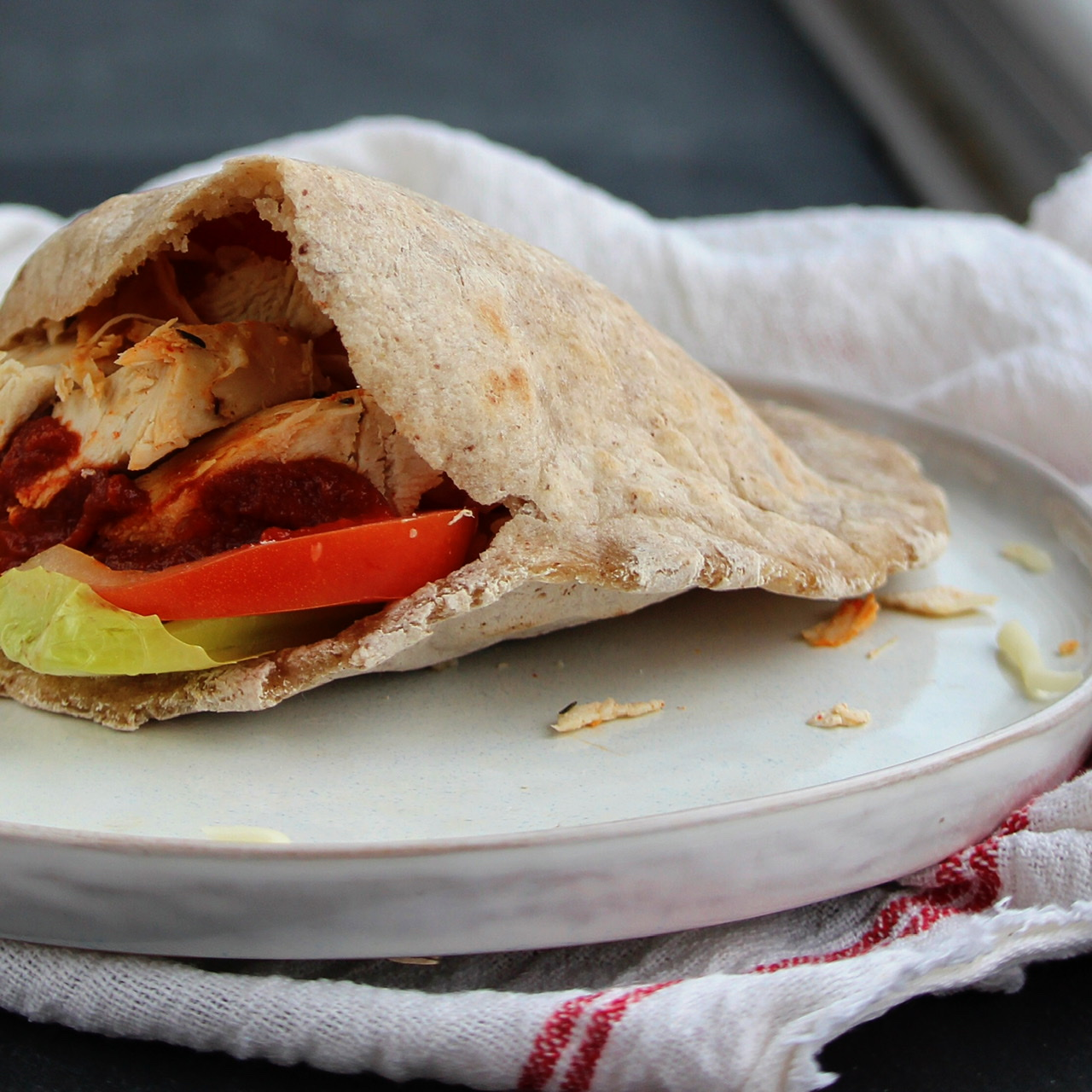Gluten-Free Pita Flatbread