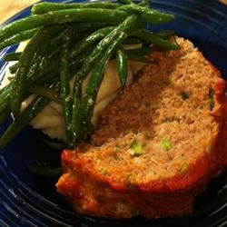 Chris's Incredible Italian Turkey Meatloaf