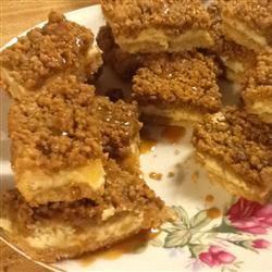 Caramel Apple Bars I Rosina
