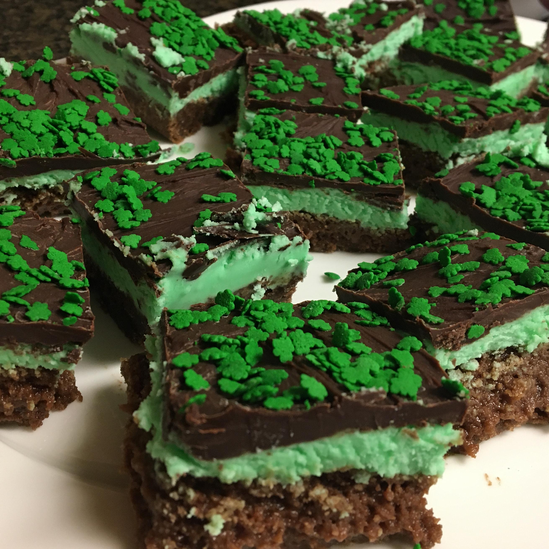Luck o' the Irish Brownie