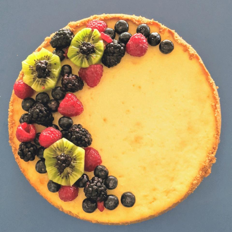 Chantal's New York Cheesecake Rose Radmacher