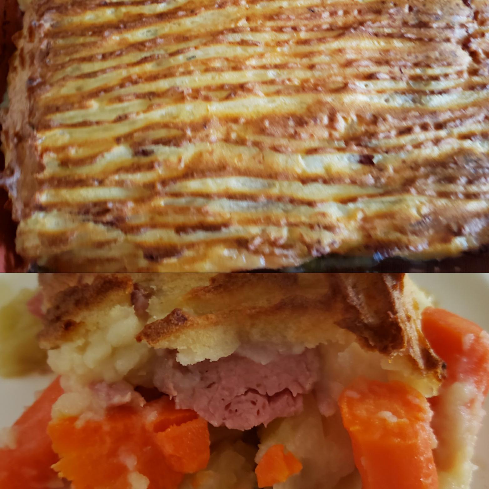 Corned Beef and Cabbage Shepherd's Pie