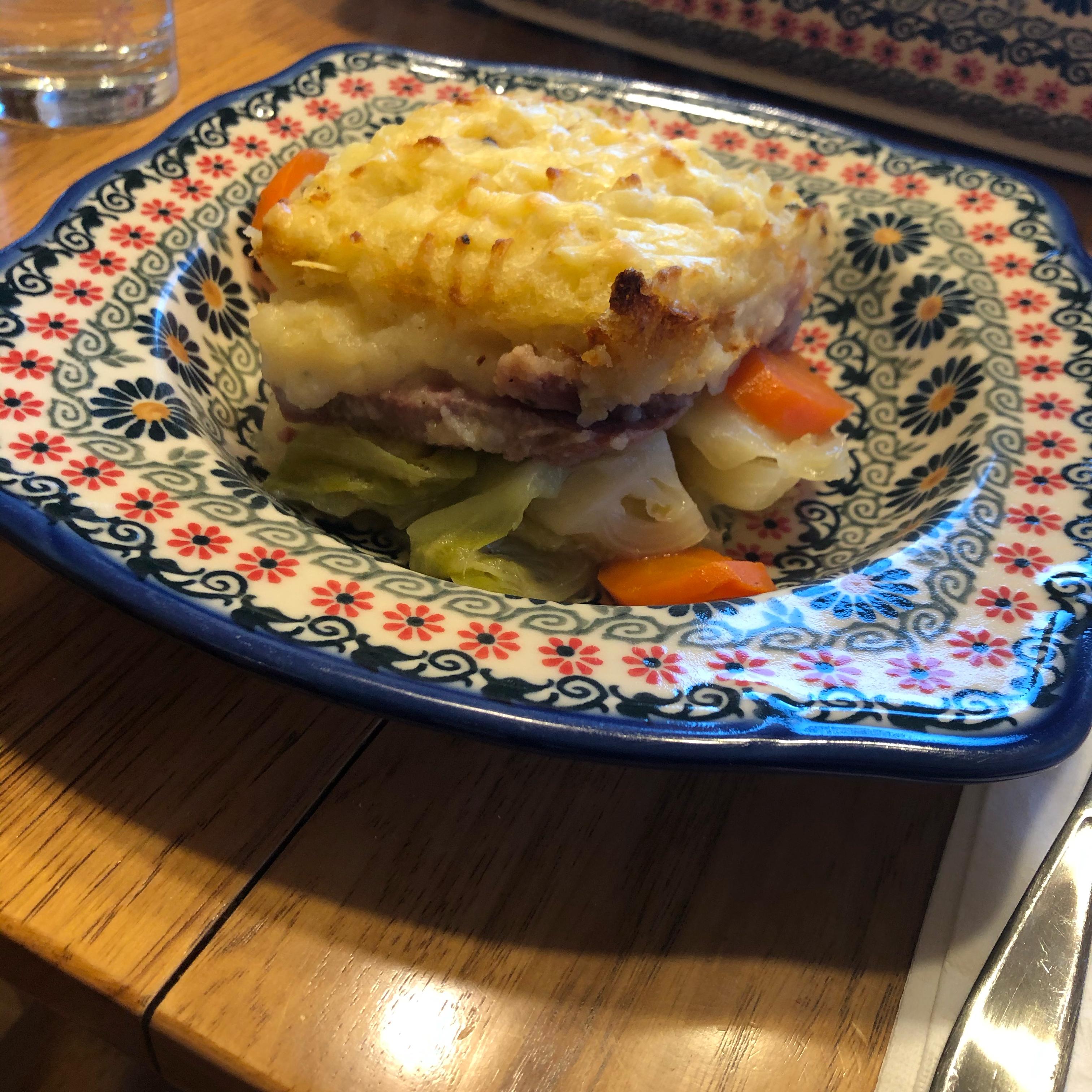Corned Beef and Cabbage Shepherd's Pie jpdowling