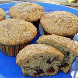 Moist Cranberry Pecan Muffins Marianne