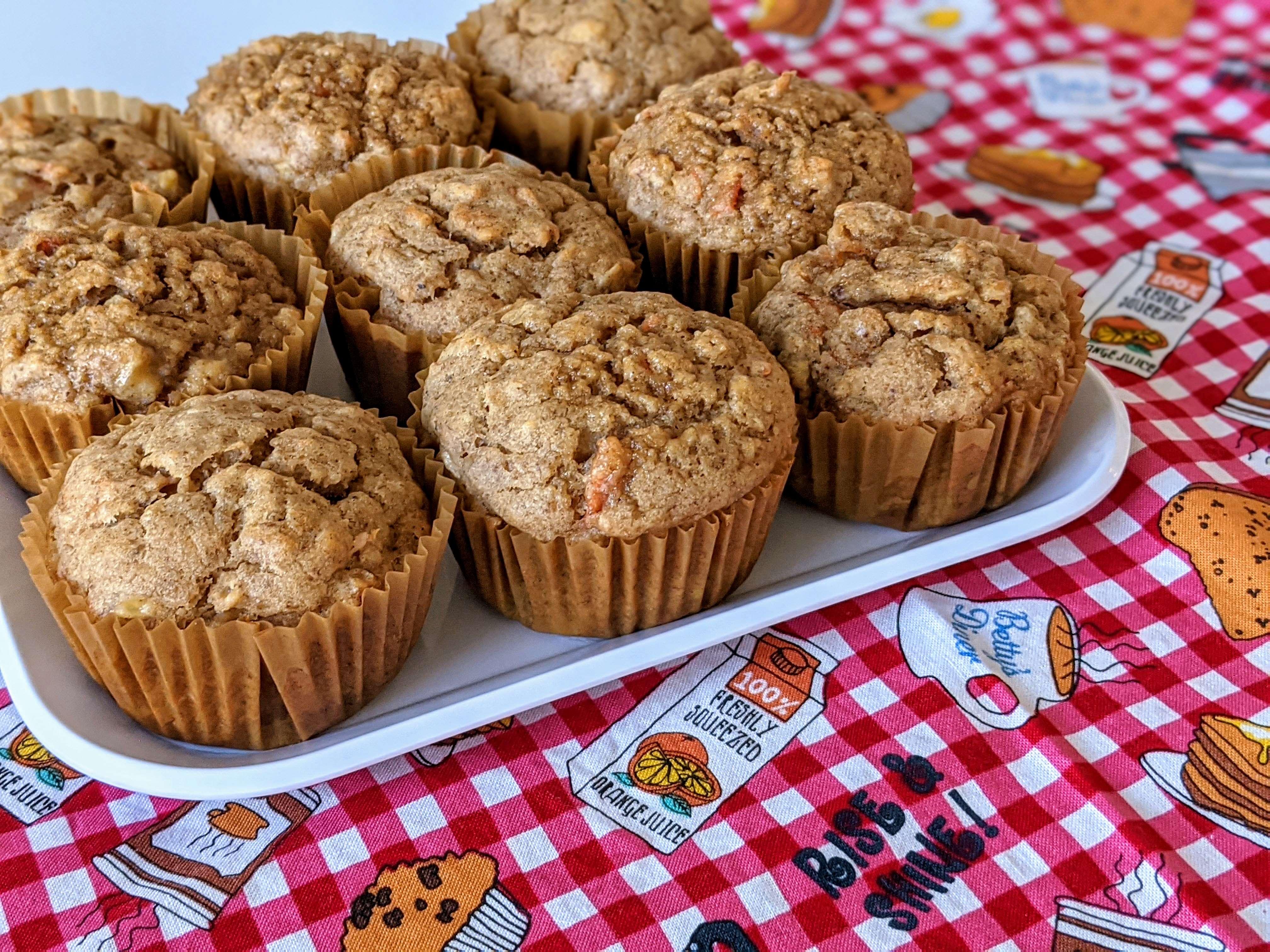 Healthy Vegan Morning Muffins