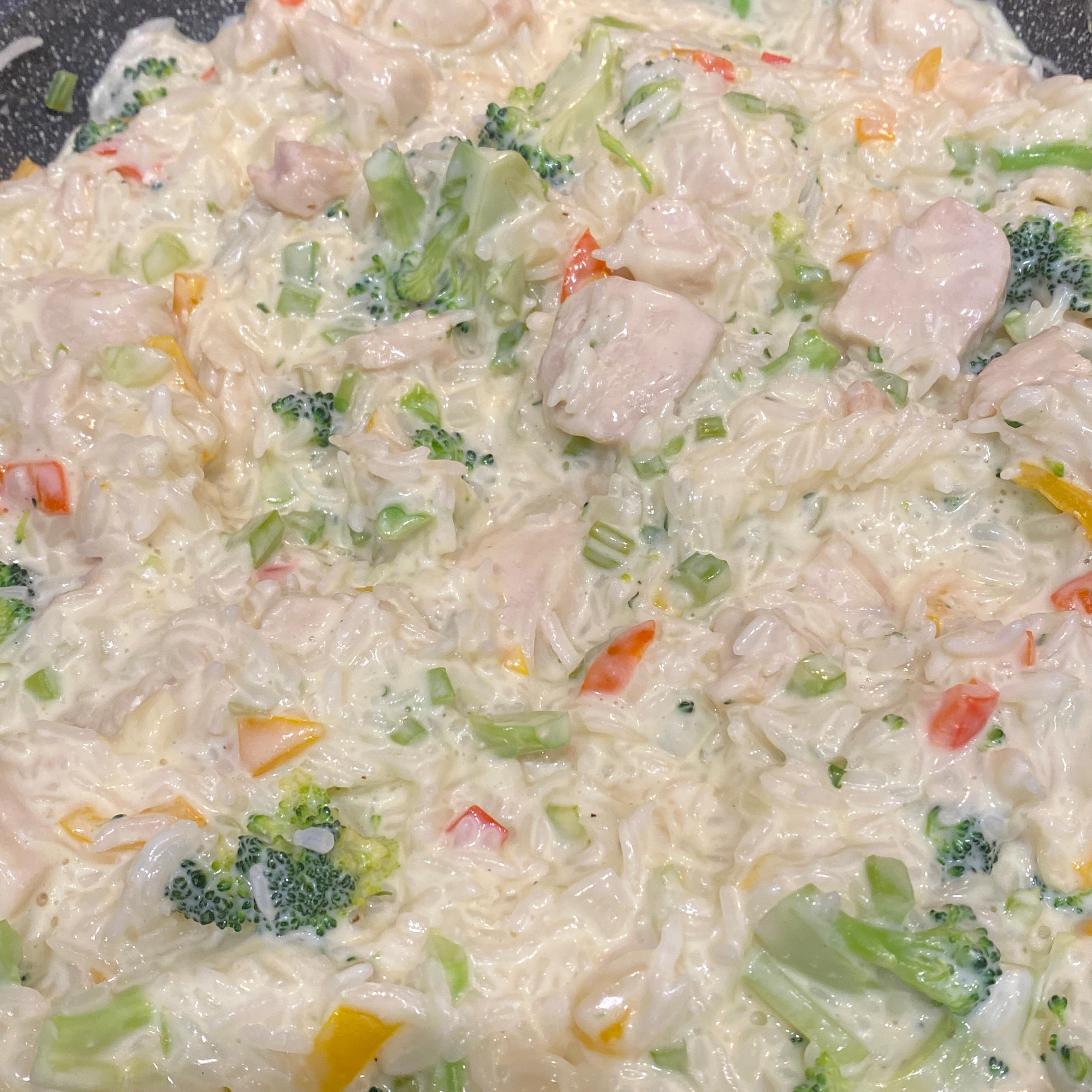 Chicken Carbonara Risotto