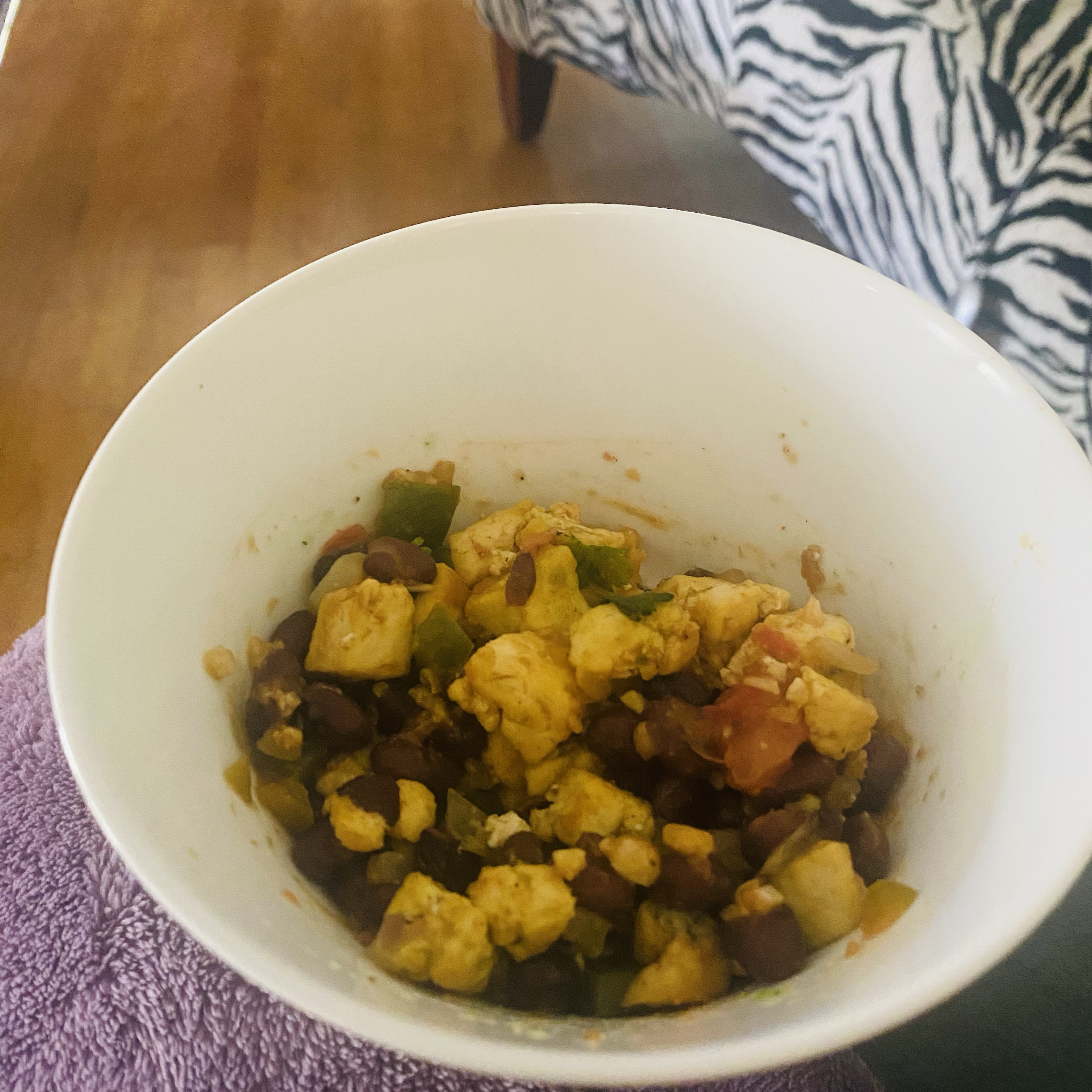 Ultimate Tofu Breakfast Burrito Bowls
