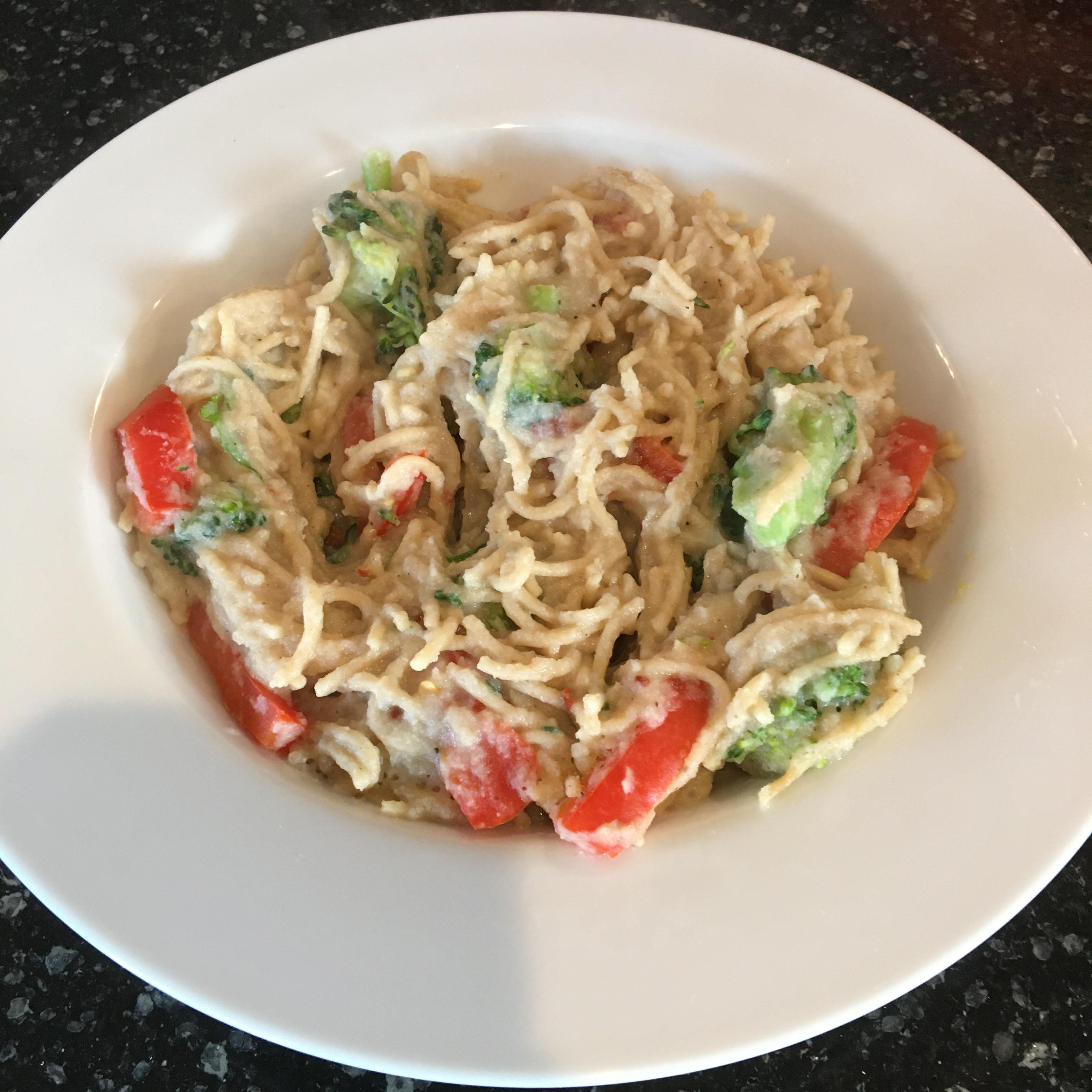 Pasta Primavera with Cauliflower Sauce Dan Minnesota
