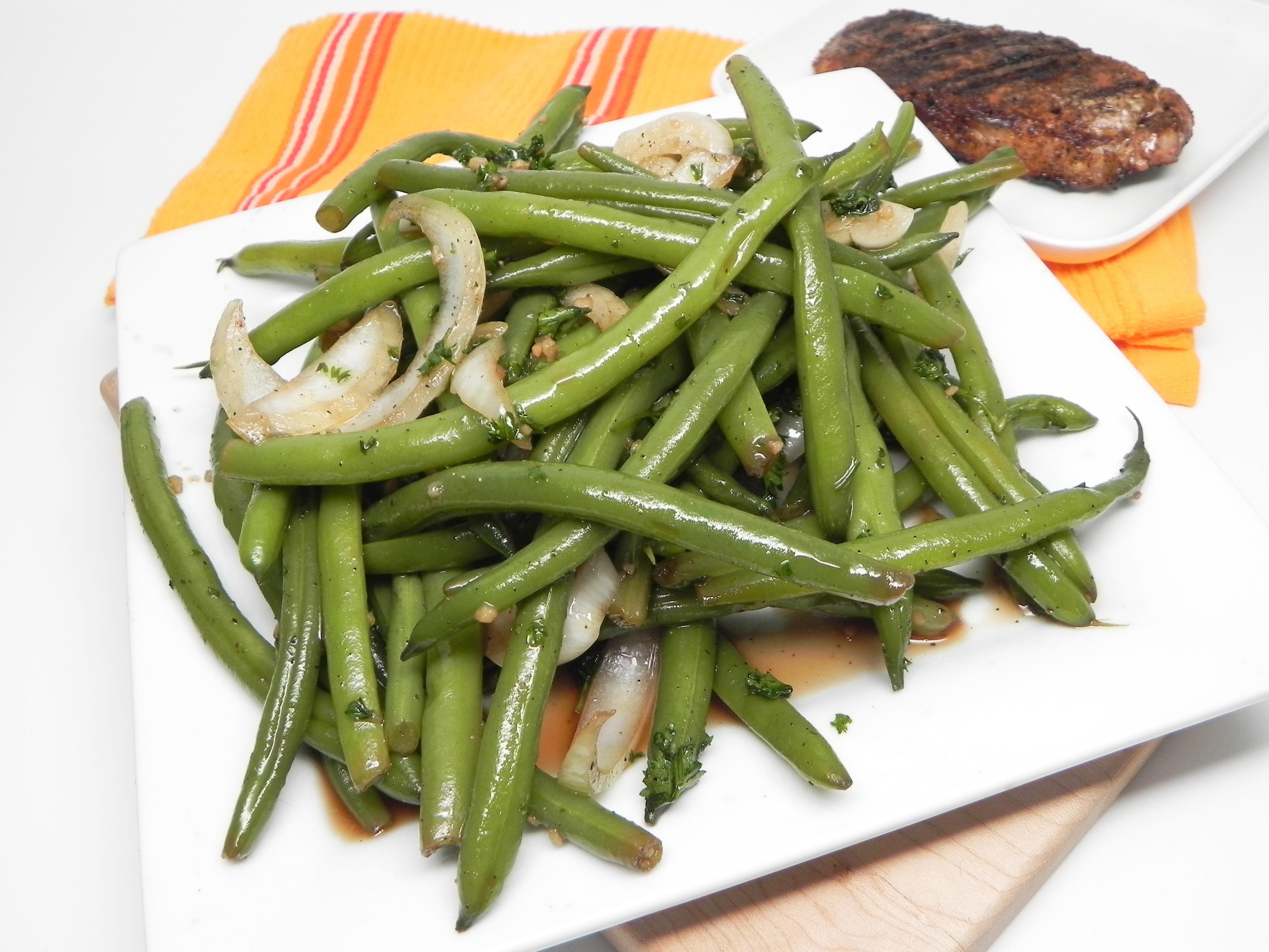Easy Cold Green Bean Salad