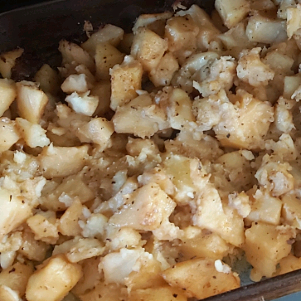 Greek Garlic-Lemon Potatoes