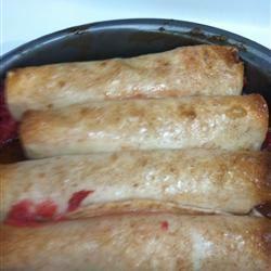 Cherry Enchiladas
