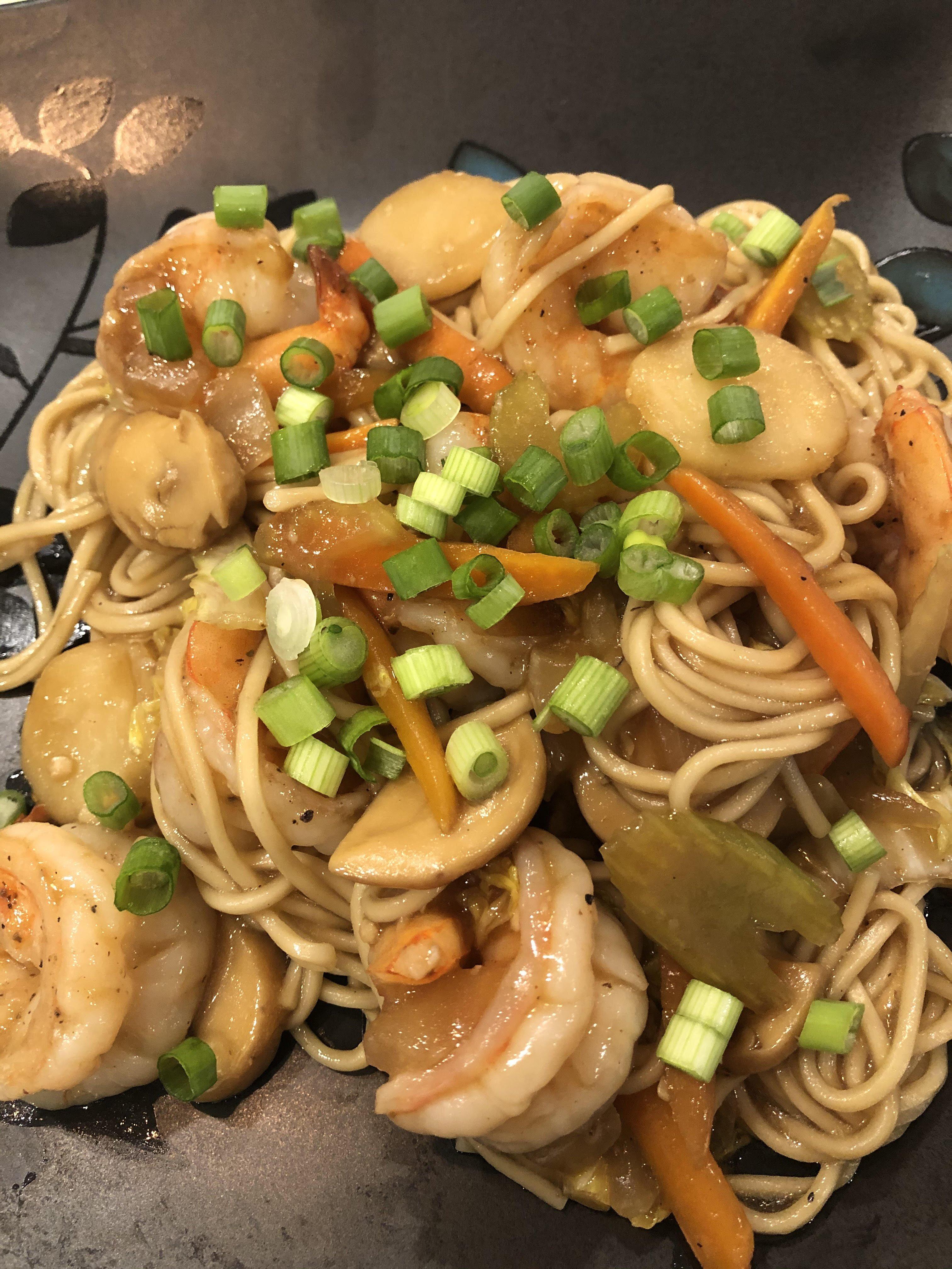 Shrimp Lo Mein Recipe Allrecipes