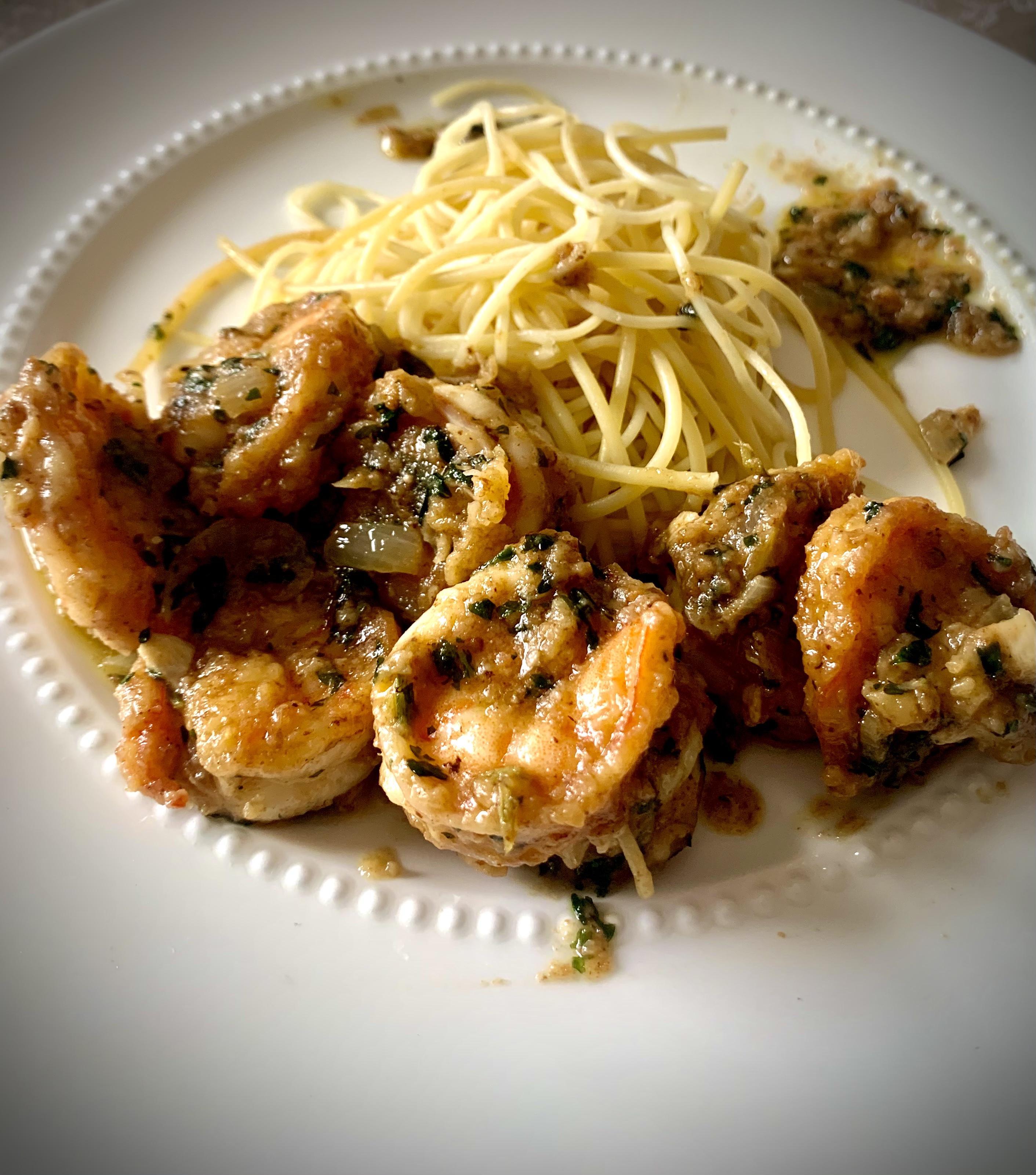 Absolutely The Best Shrimp Scampi carlos  guzman