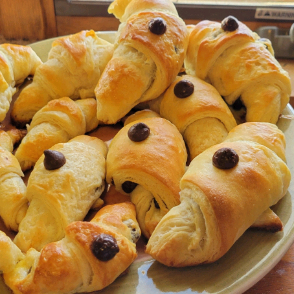 Traditional Layered French Croissants Stefanie Garcia