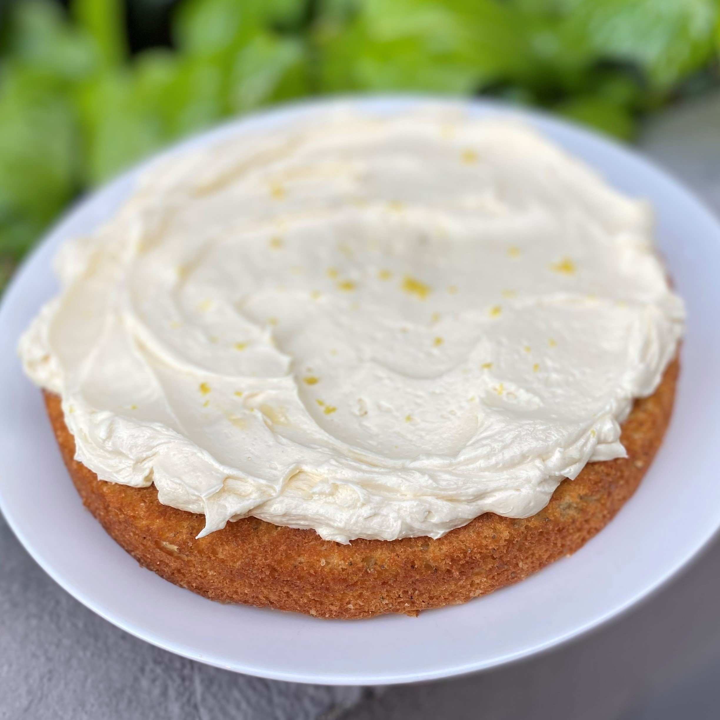 Poppy Seed Cake with Lemon Ermine Frosting Diana Moutsopoulos