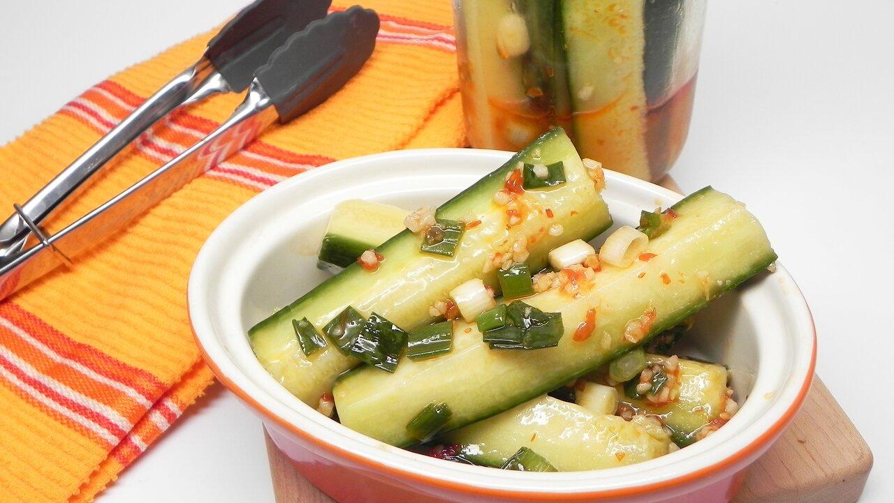 Cucumber Kimchi (Oi Sobaegi)
