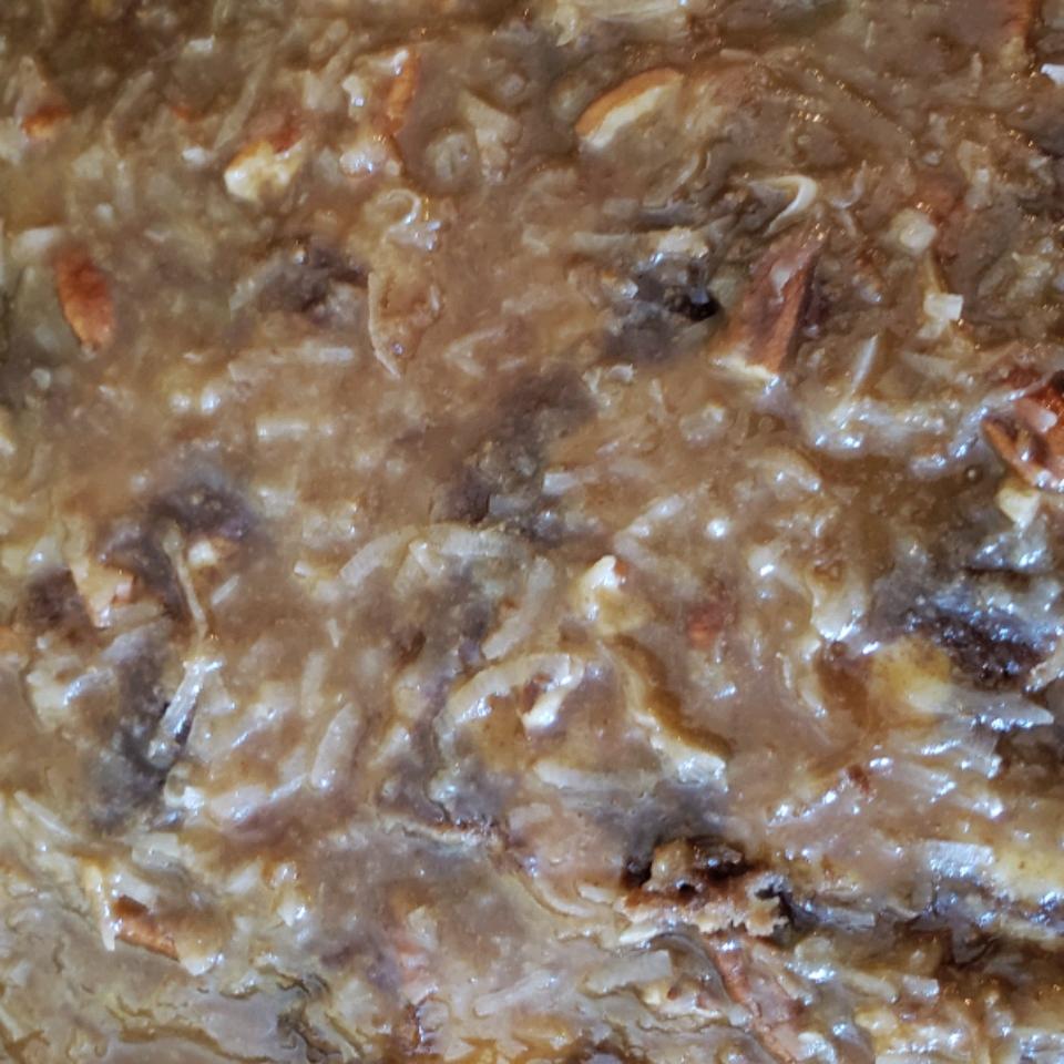 German Chocolate Cake Icing Sheila Dodge